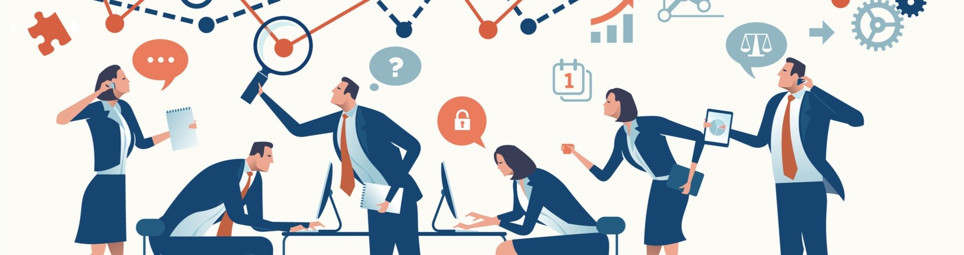 HR Pitch cum convingem candidații să vină la noi departament HR companie vector