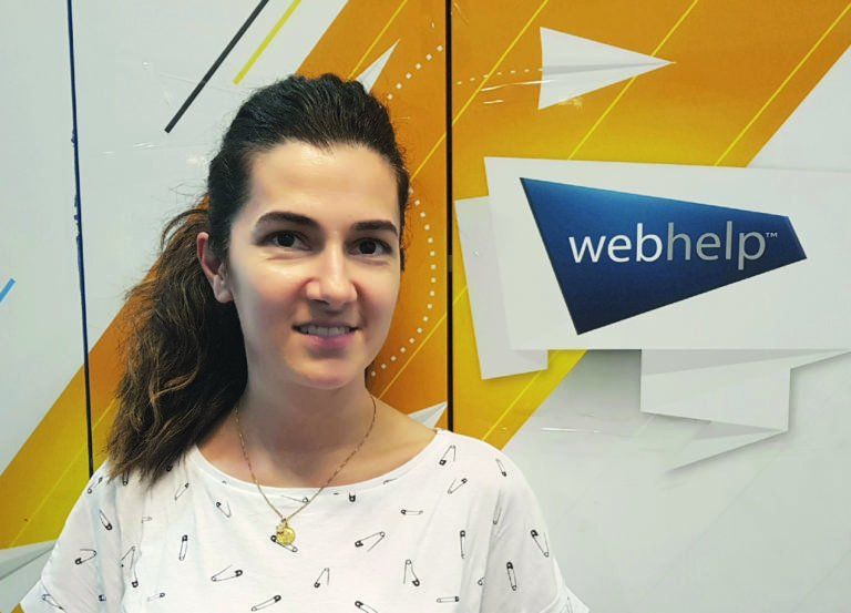 Andra ADAM - Head of Recruitement and Mobility la Webhelp Romania