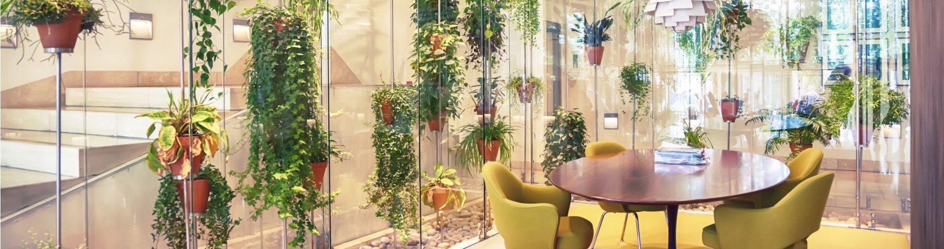 natura la birou design biofil