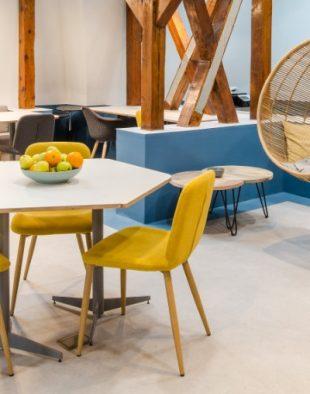 Birouri pe sufletul angajaților și un coworking space atractiv